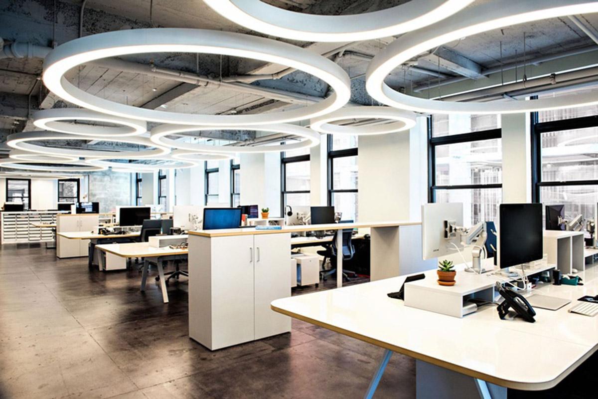 Các phong cách thiết kế nội thất văn phòng nổi bật năm 2018