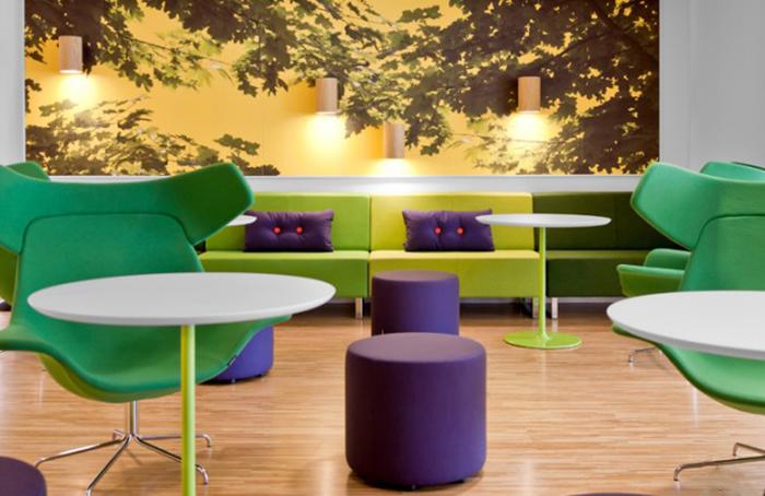 Phát triển tư duy thông qua thiết kế nội thất trong văn phòng