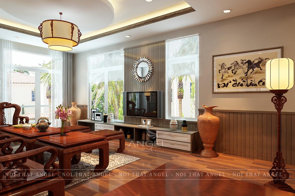 Thiết kế nội thất biệt thự tại CityLand _ Gò Vấp