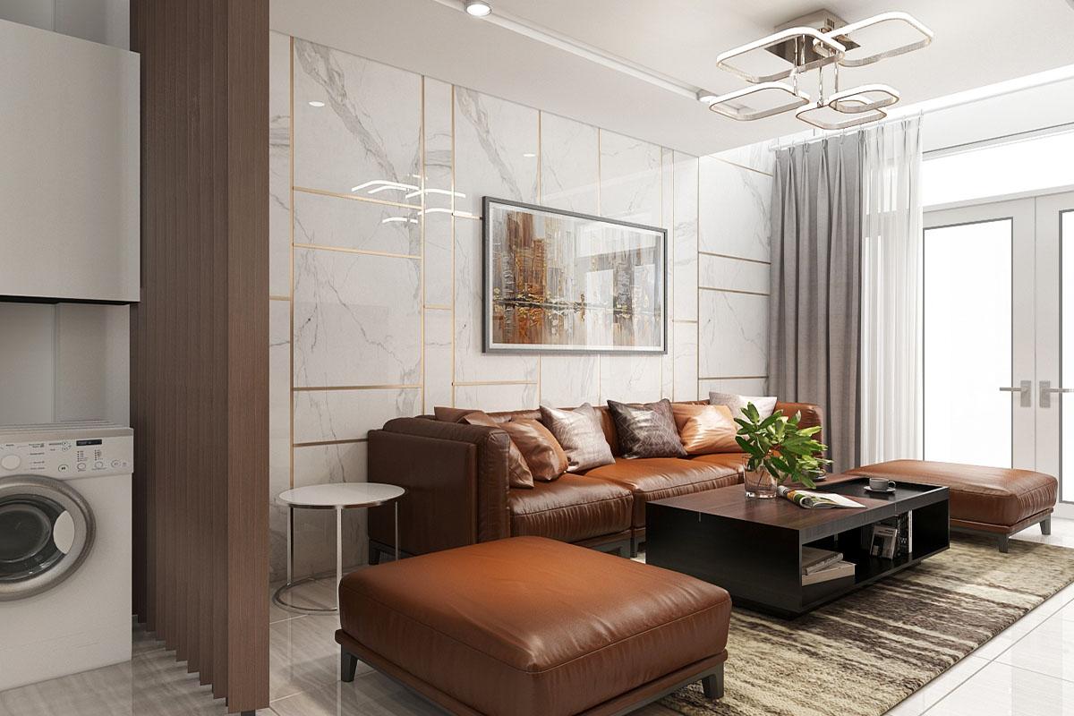 Thiết kế nội thất nhà phố Anh Huy Chị Yến Quận 3
