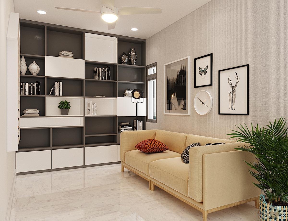 Thiết kế nội thất nhà phố Đồng Nai – Anh Quốc