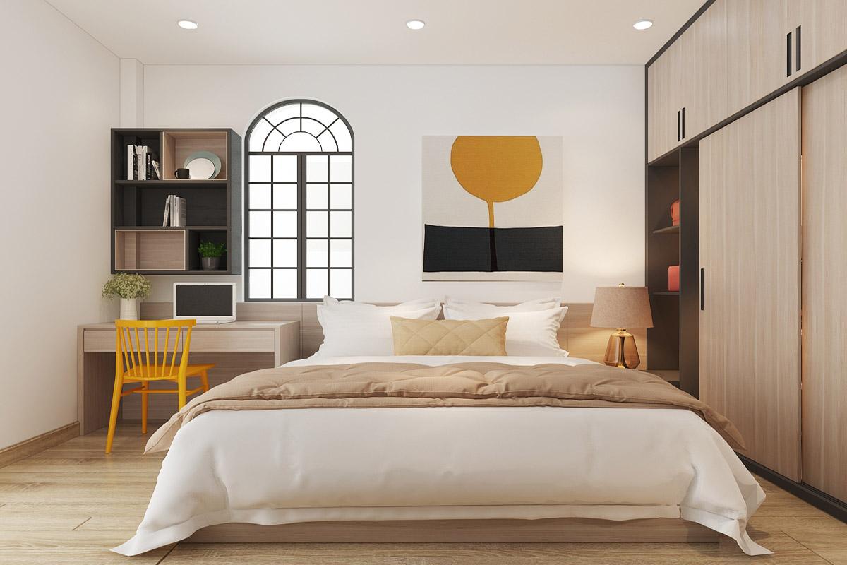Thiết kế nội thất nhà phố Tân Kỳ Tân Qúy Chị Chi – Anh Trung