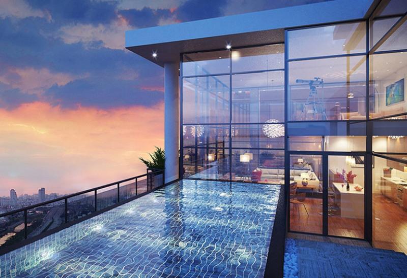 Thiết kế nội thất Penthouse – Biệt thự trên cao quý phái