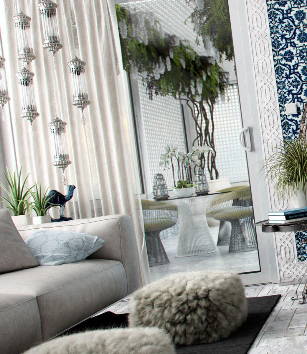 Thiết kế nội thất phòng ngủ phong cách Tunisian