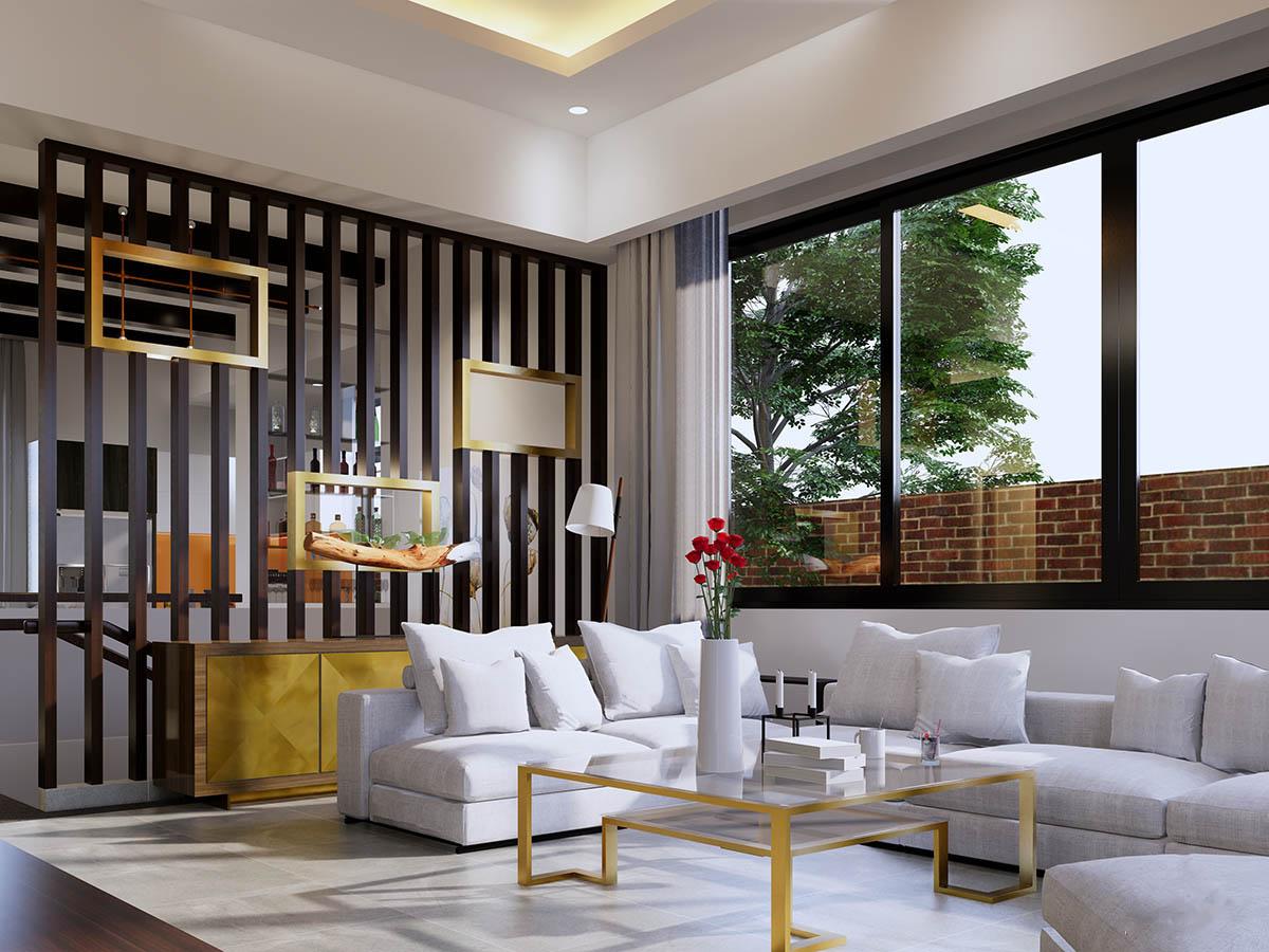 Thiết kế nội thất Villa Đà Lạt 300m2 – Anh Phát Chị My
